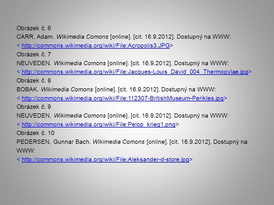Obrázek č. 6 CARR, Adam. Wikimedia Comons [online]. [cit. 16. 9. 2012]